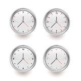 Stylish clocks Royalty Free Stock Photos
