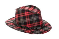 Stylish cloth hat Stock Photography