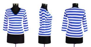 Stylish clothing isolated on the white Stock Images
