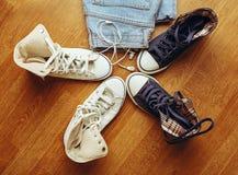 Stylish clothing for teenagers Royalty Free Stock Photo