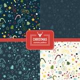 Stylish collection patterns Stock Photo