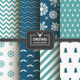 Stylish collection patterns Stock Photos