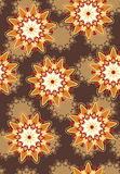 Stylish colored pattern Royalty Free Stock Images
