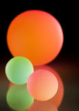 Stylish colorful balls Royalty Free Stock Photo