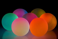 Stylish colorful balls Stock Image
