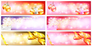 Stylish Colorful and romantic abstract magic Christmas night Stock Photography