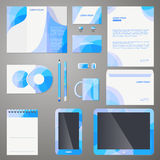 Stylish company brand design template Royalty Free Stock Photo