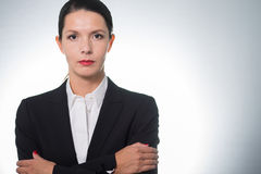 Stylish confident businesswoman Stock Photography