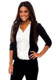 Stylish confident female business executive Royalty Free Stock Photos