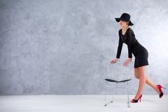 Stylish and confident Stock Image