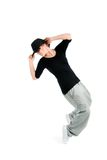 Stylish and cool hip hop style dancer posing Royalty Free Stock Image