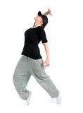 Stylish and cool hip hop style dancer posing Stock Photos