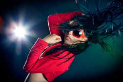 Stylish and cool looking dancer. Girl Royalty Free Stock Image