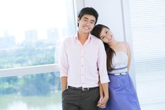 Stylish couple Stock Images