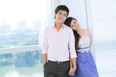 Stylish couple Stock Images