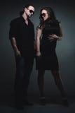 Stylish couple Stock Image