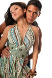 Stylish couple Stock Photo