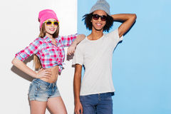 Stylish couple. Stock Images