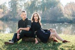 Stylish couple Royalty Free Stock Photo