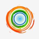 Stylish creative indian flag Royalty Free Stock Photos