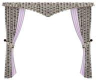 Stylish curtain Royalty Free Stock Photography