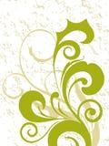 Stylish curve design print Royalty Free Stock Photo