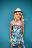 Stylish cute young girl Stock Photography