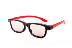 Stylish 3D glasses Stock Photography