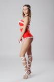Stylish dancer. Beautiful and stylish dancer is posing Stock Image