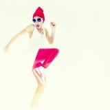 stylish dancer girl Stock Images