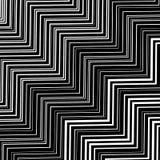 Stylish Decorative Background with  Zigzags Royalty Free Stock Photos