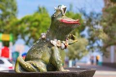 Stylish decorative frog Stock Photography
