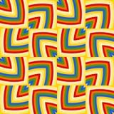 Stylish decorative geometrical seamless pattern of cheerful colors. Abstract stylish decorative geometrical seamless pattern of cheerful colors Royalty Free Stock Photos