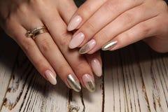 stylish design of manicure Stock Photography