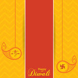 Stylish design and text for Diwali celebration. Stock vector