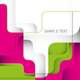 Stylish designed layout. Stylish designed layout with modern shapes Stock Photography
