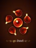 Stylish diwali festival Royalty Free Stock Photo