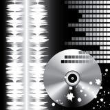 Stylish DJ's background. Vector. Stock Photography