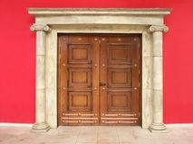Stylish door Royalty Free Stock Photo