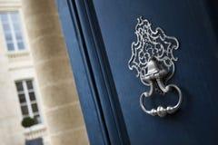Stylish door knocker royalty free stock photo