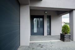 Stylish doors Royalty Free Stock Images