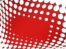 Stylish dots abstract background Royalty Free Stock Image