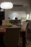 Stylish Elegant Kitchen Diner Royalty Free Stock Photos