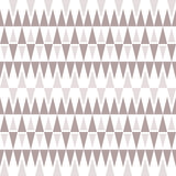 Stylish elegant seamless pattern of triangles in gentle brown-gr Stock Photo