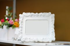 Stylish empty frame Royalty Free Stock Image
