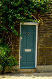 Stylish entrance to a residential building,  Royalty Free Stock Images