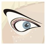 Stylish Eye Stock Photo