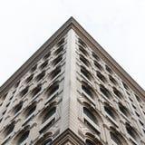 Stylish facade. Beautiful building Royalty Free Stock Photography