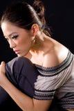 Stylish fashion asian young woman Royalty Free Stock Photo