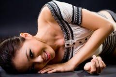 Stylish fashion asian young woman Stock Photography